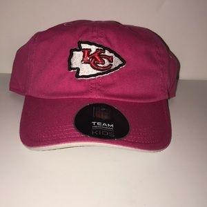 Toddler Kansas City Chiefs Pink Slouch Hat NWT